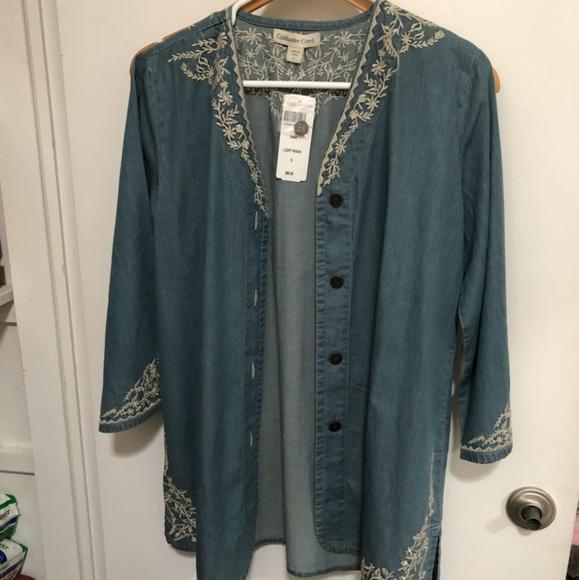 Coldwater Creek Tops - Coldwater Creek lightweight jacket